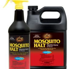 FLY SPRAY, MASKS AND FEED THROUGH FLY CONTROL