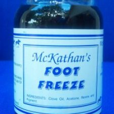 T.T. Distributors McKathan's Foot Freeze