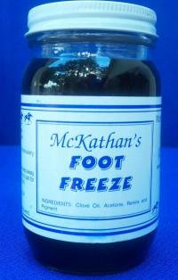 T.T. Distributors McKathan's Foot Freeze