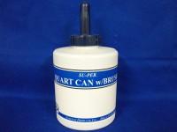 T.T. Distributors Quart Can & Brush for Sables