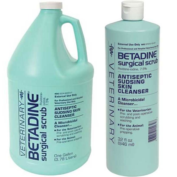T.T. Distributors Betadine Scrub